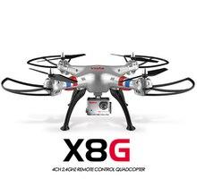 Original Syma X8G 2.4G 6 axes Gyro 4CH RC Quadrocopter mode sans tête Drones professionnels avec caméra 5MP hd