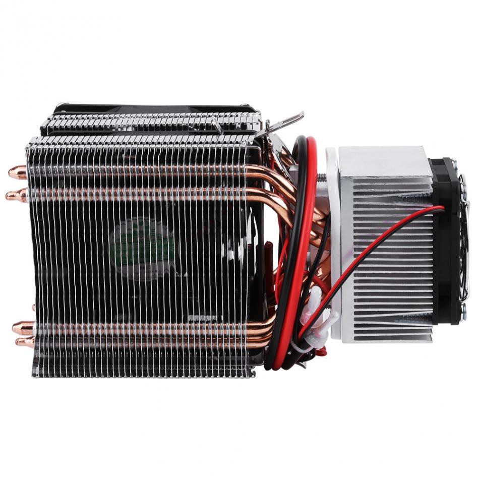 DC 12V Peltier refrigeración de aire de refrigeración radiador DIY nevera sistema refrigerador 20A 180W Semiconductor Mini aire acondicionado