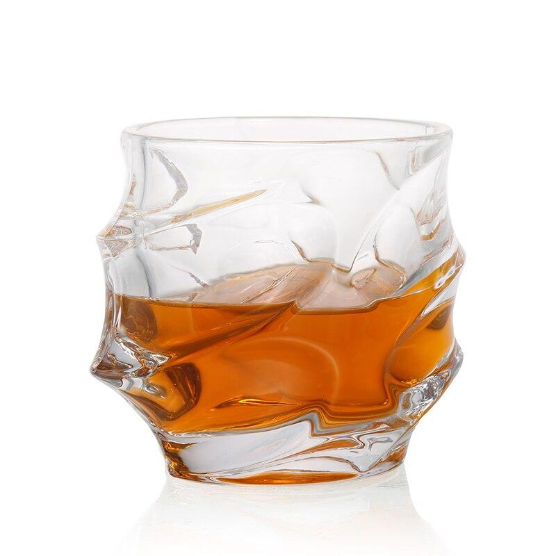 Pcs 350ML Copos de Uísque Scotch 1 Óculos Copos De Licor De Vidro Máquina de Lavar Louça ou Bourbon Original Elegante Ultra-Clareza vidro