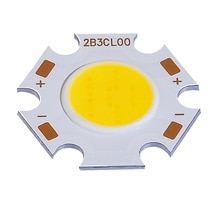 5 uds 10W COB LED chip de alta calidad 130LM/W Ra> 80 led de alta potencia de 3W 5W 7W led granos DIY foco bombilla led luz descendente LED chip