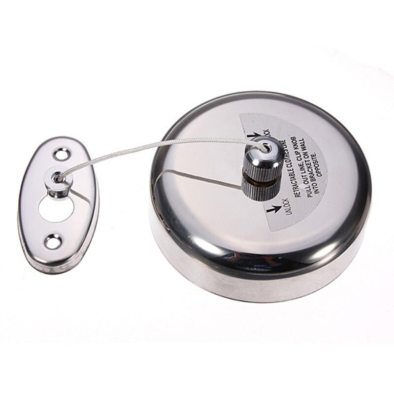 JX-LCLYL retráctil de acero inoxidable para ropa, línea de secado de ropa, tendedero con tornillos