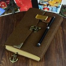 Tapis relié journal carnet de voyage journal fait à la main mémoire vintage style journal fournitures scolaires cahier