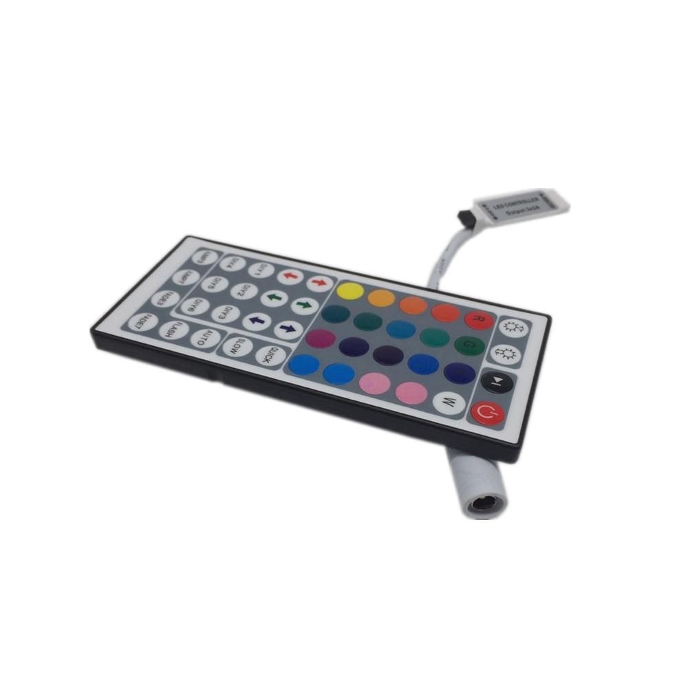 10PCS MINI RGB LED controller 44 key IR Remote Control for RGB LED strip,