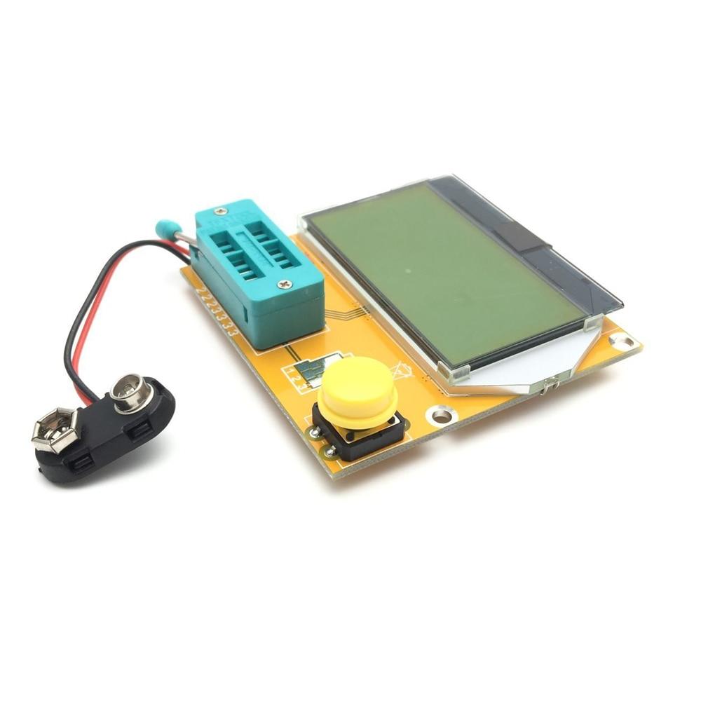 Mega328 тестер транзисторов Диод Триод Емкость ESR метр MOS/PNP/NPN L/C/R