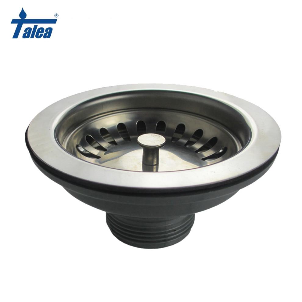 Talea 114mm diameter Blow Sink drain strainer Basin waste Filter Kitchen Fixtures