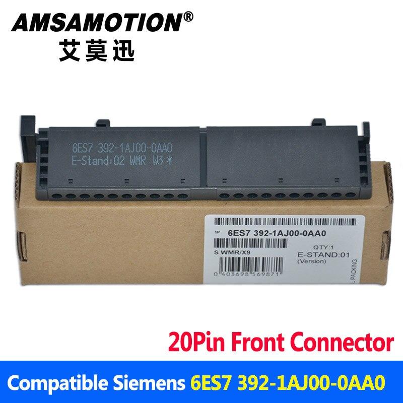 6ES7 392-1AJ00-0AA0 для Siemens S7-300 передний разъем 20Pin клеммный блок 1AJ00 Бесплатная доставка с 3 года Warrenty