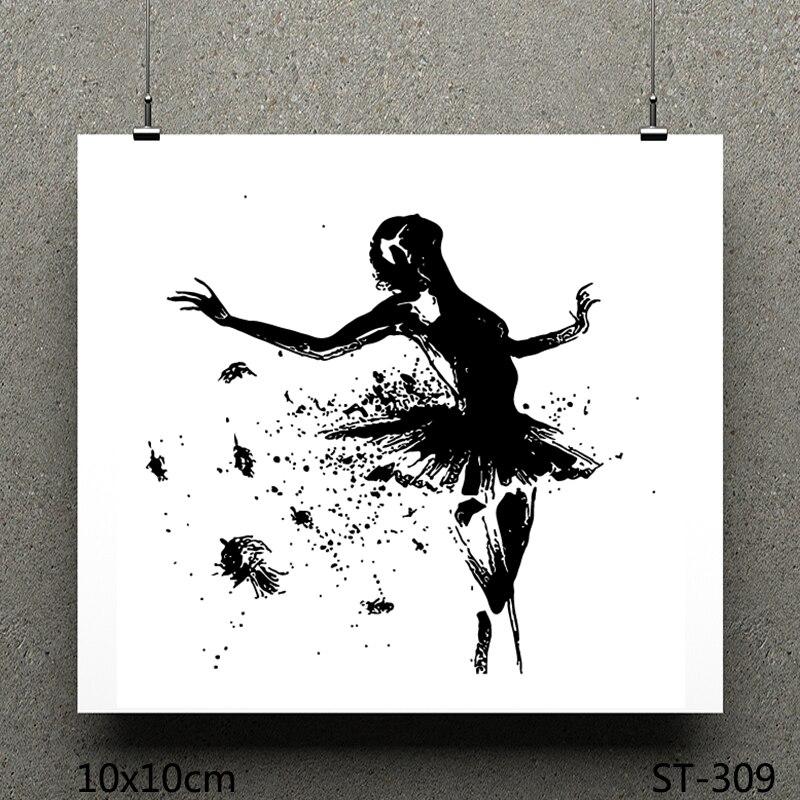 Sellos transparentes AZSG Taxi dancer/sellos transparentes de silicona para hacer tarjetas de scrapbooking DIY