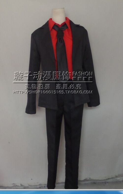 Ansatsu kyoushitsu cosplay roupas assassinato sala de aula akabane karma cosplay traje personalizado