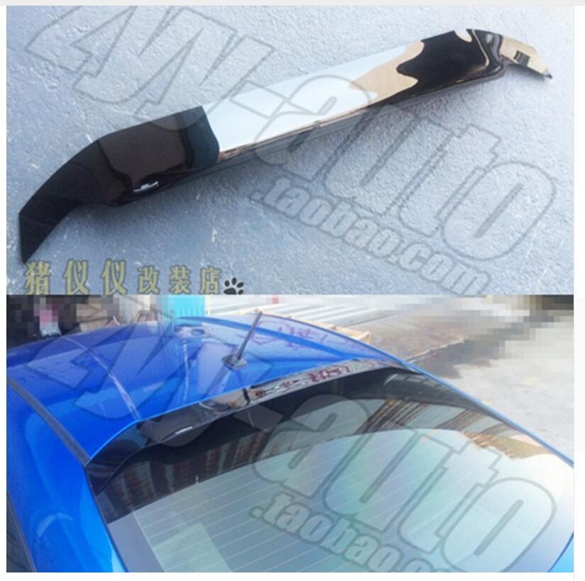 Acessórios do carro uso para toyota gt86 telhado spoiler subaru brz telhado asa traseira spoiler automóvel decoração esporte spoiler
