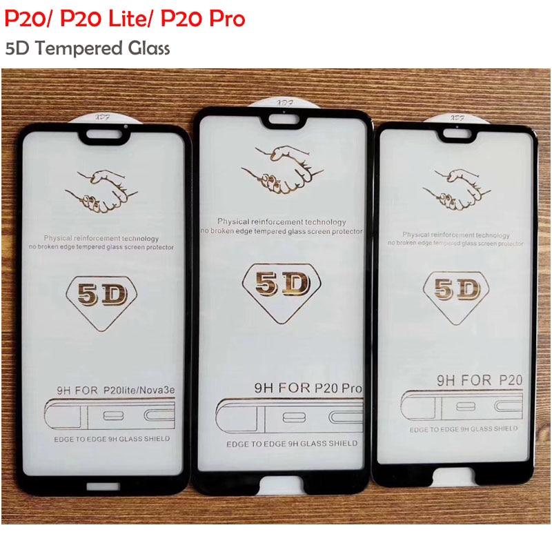 3 шт./пакет 5D Big Radian P20 Lite Премиум изогнутое закаленное стекло для Huawei P20 Pro Lite P20 Защитная пленка для экрана полное покрытие стекло