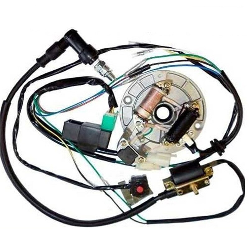 TDPRO 50CC 110CC 125CC Мотоцикл CDI катушка статор Магнето разъем провода жгут ткацкий станок подходит 50CC 110CC 125CC ямы велосипеды грязи