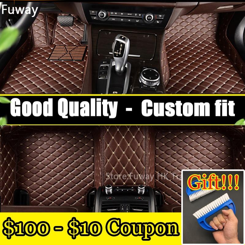 Good quality Custom car floor mat for BMW F10 F11 F15 F16 F20 F25 F30 F34 E60 E70 E90 1 3 4 5 7 GT X1 X3 X4 X5 X6 Z4 car-styling