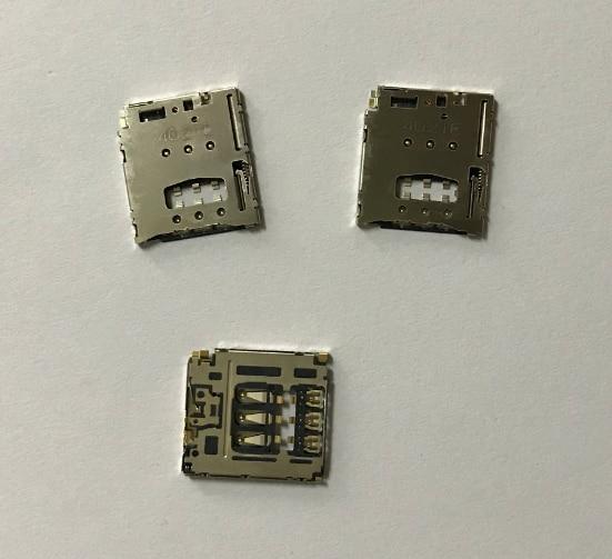 50 шт. для Motorola MOTO G2 XT1062 XT1069 Sim-кардридер держатель коннектор для Sony T3 M2 M50W D5102 D5103