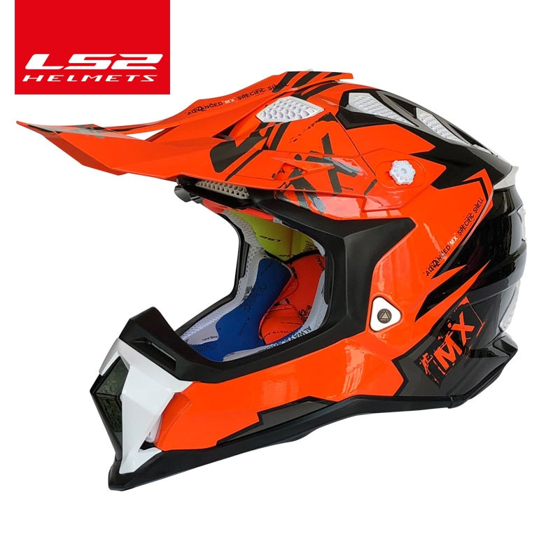 LS2 SUBVERTER Off-road motocross helmet Innovative technology ls2 mx470 High quality motorcycle helmet
