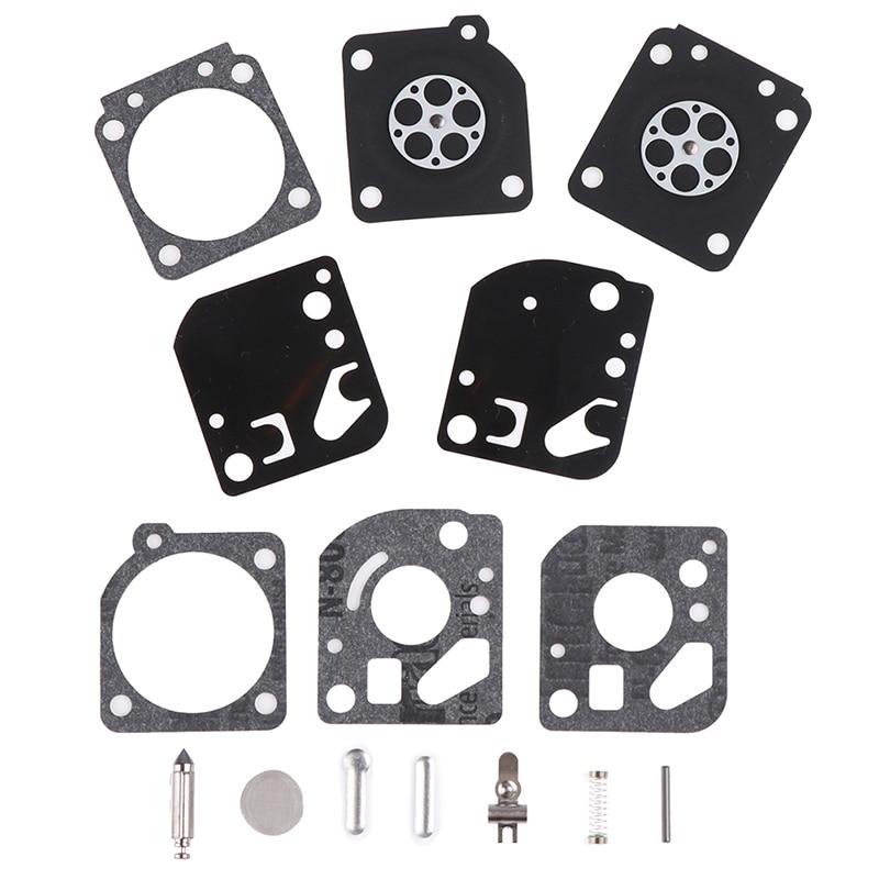 1Set Carburetor Carb Gasket Diaphragm Repair Rebuild Kit Fit For Zama RB-29 Carb Blower Trimmer Best Sale