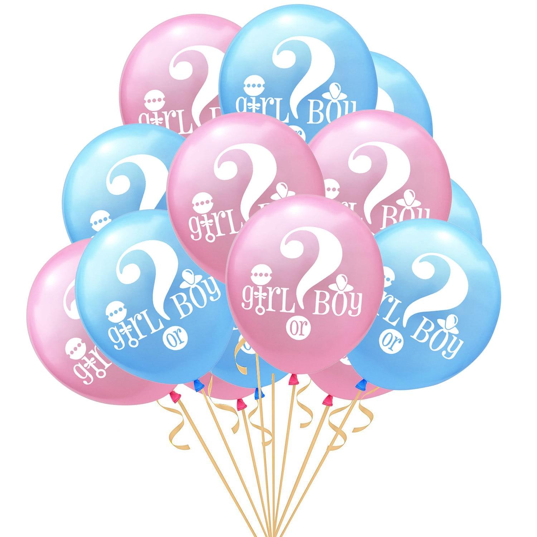 Género revelar festa decoração balão ele ou ela? Balão menino ou menina chá de fraldas festa decoração coração estrela balão