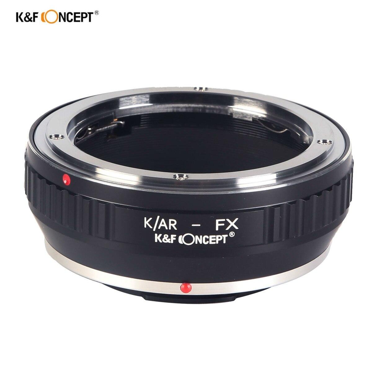K & F CONCEPT lente anillo adaptador para Fotasy AFKR Konica Hexanon AR lente a Fujifilm montaje FX Cuerpo de Cámara