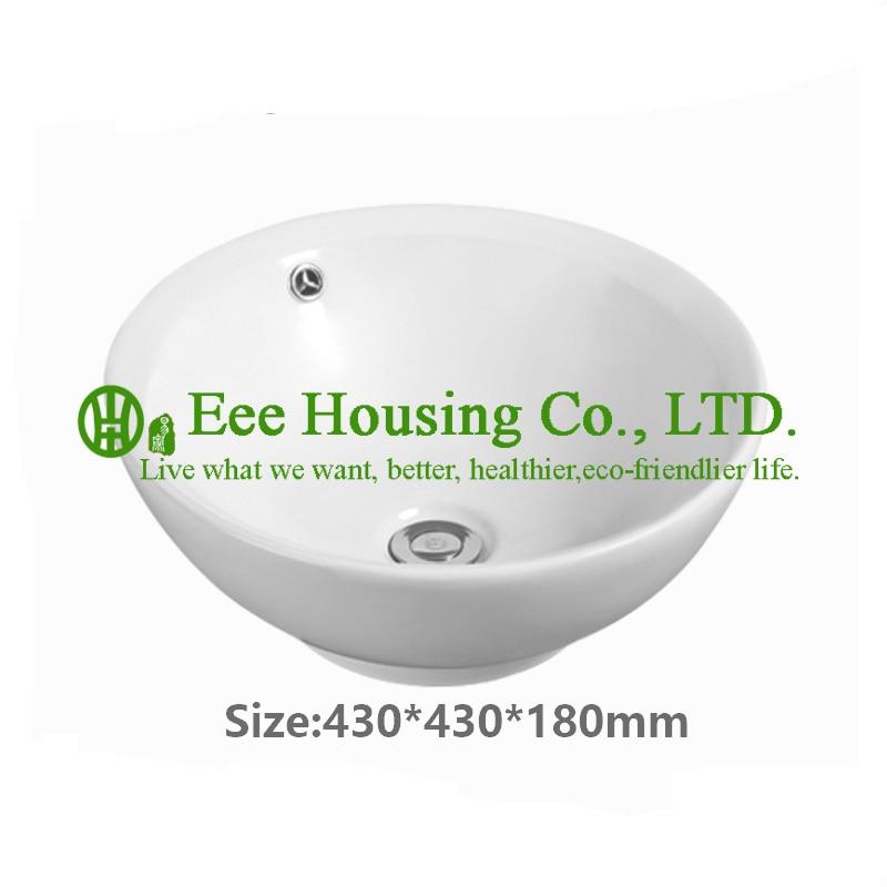 Lavabo de inodoro lavabo encimera de baño