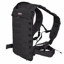 Sac à dos de transporteur dhydratation Molle tactique pour la course à pied randonnée Camping cyclisme moto ajustement Seibertron 2.0L/2.5L sac à eau