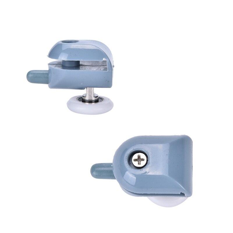 1pcs Single Shower Door Rollers Runners Wheels Pulleys Replacement Top/Bottom Shower Wheels 25mm Hardware Tools