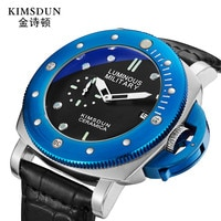 Mens Watches Top Brand Luxury Leather Casual Quartz Watch Men Army Military Sport Quartz-watch Gold Watch Relogio Masculino
