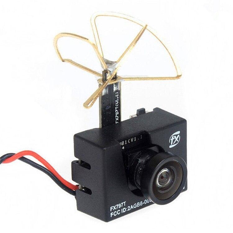 Transmisor AV FX797T 5,8G 25mW 40CH con cámara 600TVL para Dron de cámara Quadcopter FPV