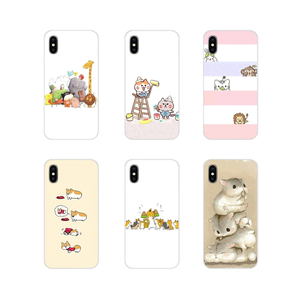 Interesting Cartoon Illustration Accessories Phone Case Cover For Huawei Mate Honor 4C 5C 5X 6X 7 7A 7C 8 9 10 8C 8X 20 Lite Pro