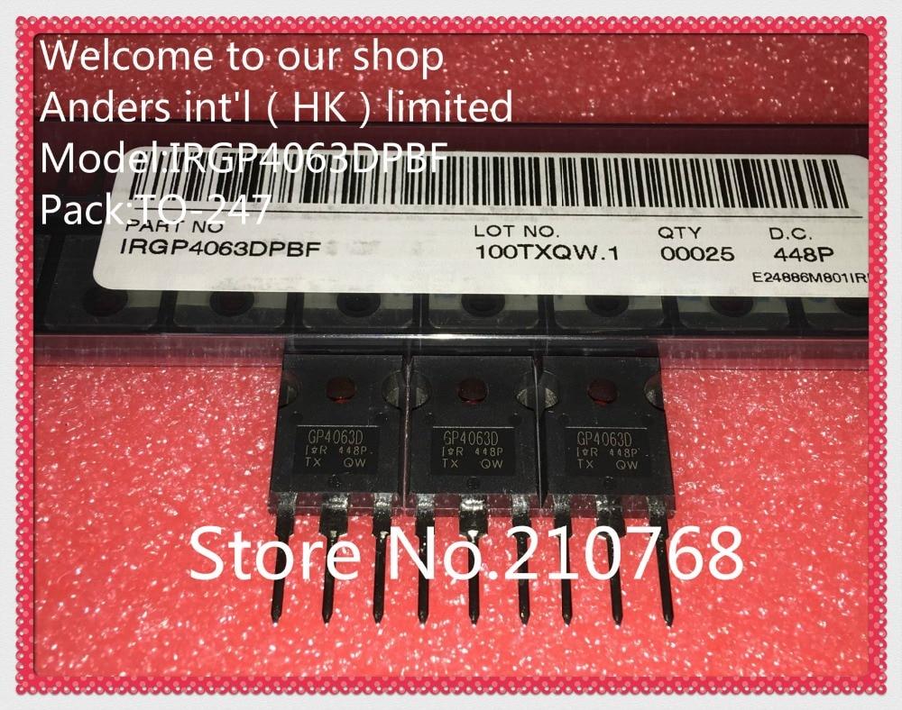 10pcs/lot      IRGP4063DPBF        IRGP4063D          IRGP4063         GP4063D        IGBT 600V 96A 330W TO247AC