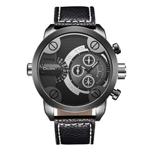 Oulm 3130 Sports Men's Watches Top Brand Luxury Male Quartz Watch Big Dial Leather Wrist Watches Man