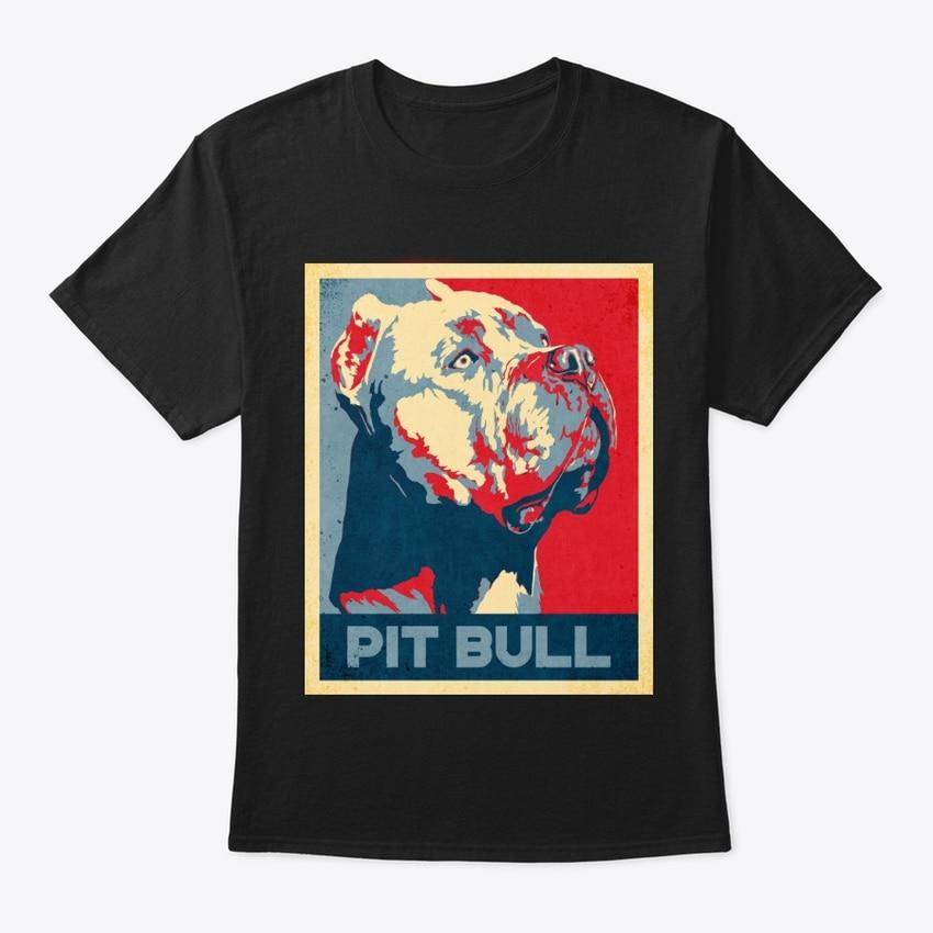 Cool Pit Bull Propaganda póster estilo camiseta de calidad superior para hombres verano 2019 moda algodón Tops camisetas Skate camiseta