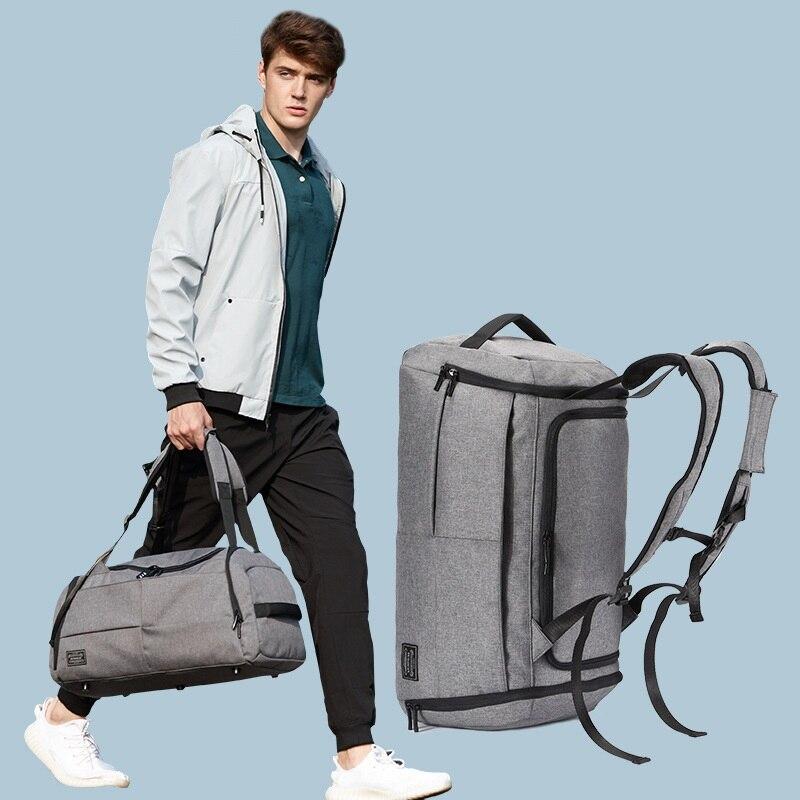 Сумка для фитнеса Мужская, для катания на лыжах и багажа, дорожная сумка на короткое расстояние, спортивные рюкзаки, вместительная спортивн...