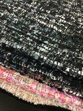 Tissu en laine tissé de couleur chaude   Tissu tissé en tweed de 7 couleurs, pour le choix, 1 mètre 59 pouces, livraison gratuite