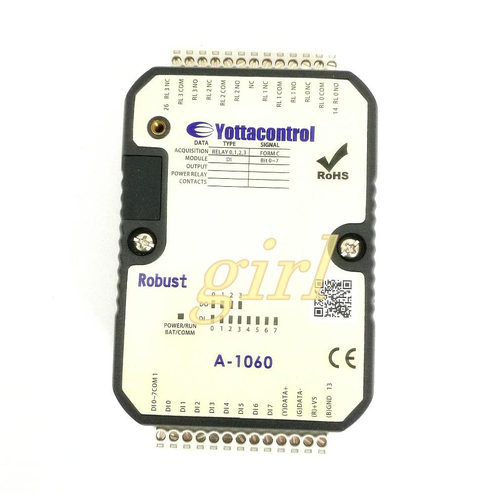 IO acquisition module PLC time data controller multiplex industrial control switch expansion module A-1060