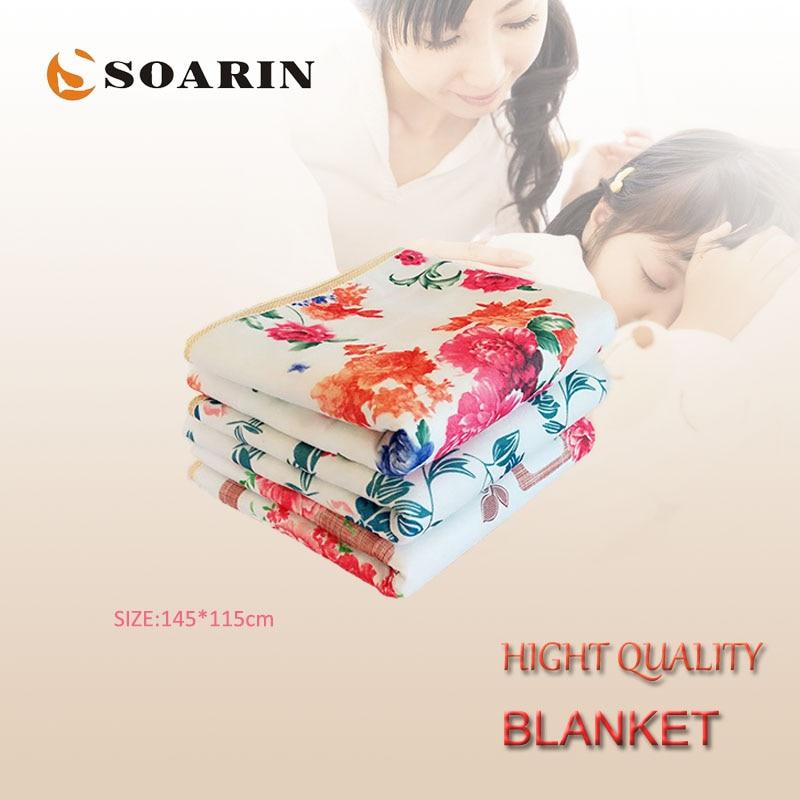 Manta eléctrica calentada SOARIN, manta eléctrica de 220 v, manta eléctrica de...