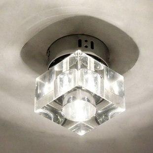 Lámpara moderna de cristal, luces de pasillo, luz de techo de un solo cabezal, lámparas de balcón, iluminación del mar Egeo, recién llegado