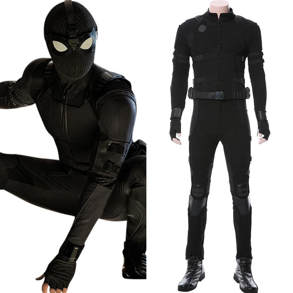 العنكبوت تأثيري حلي العنكبوت بيتر باركر رجل أسود الشبح دعوى لجميع القديسين كرنفال