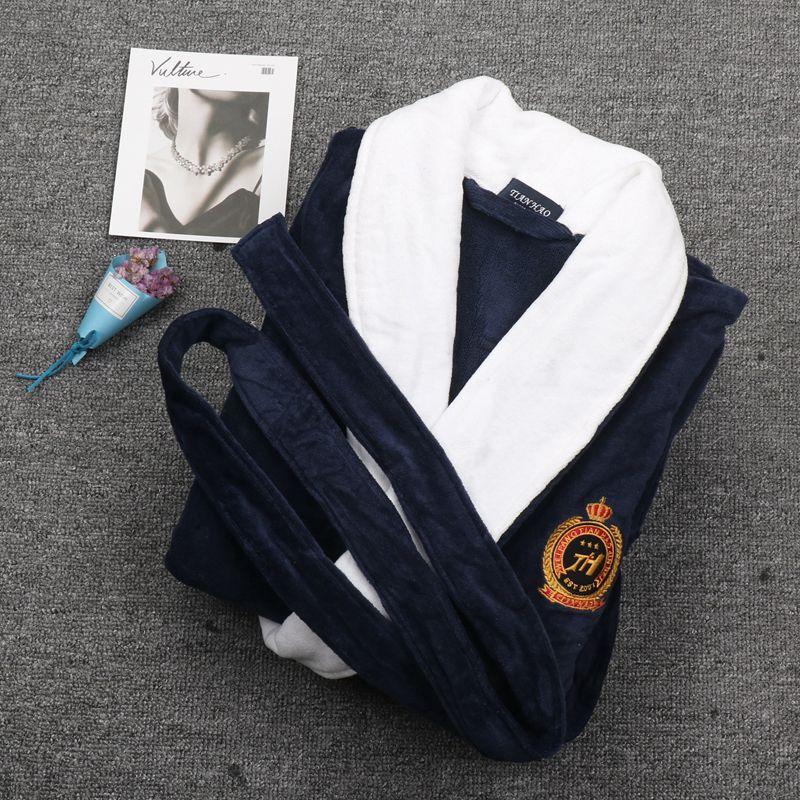 Мужские Зимние халаты из хлопка, мужские теплые халаты раньше XXXL, длинный мужской халат, мужской халат, мужское кимоно