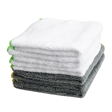 LEEPEE 37*37cm outil de nettoyage de serviette de lavage de voiture tissu Ultra doux pour voiture cire vernis soins Auto détaillant voiture-style