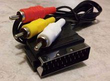 Câble Audio vidéo haute qualité 1.5 m RGB péritel à 3 RCA pour NES BUKIM
