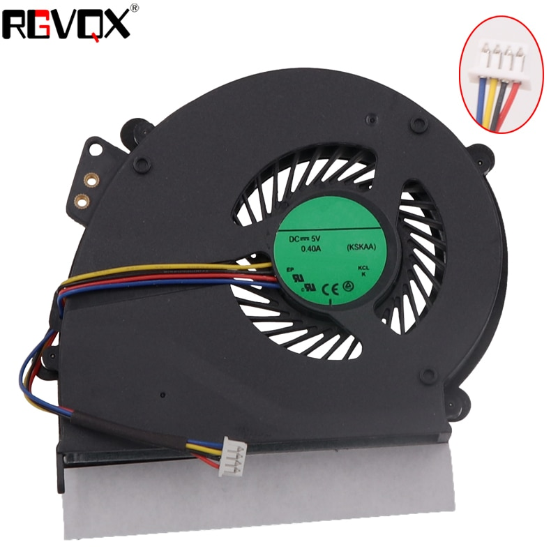 Nuevo Ventilador de refrigeración para portátil para Acer Extensa 5235 5635 5635ZG ZR6 PN MG55100V1-Q060-S99 AB0805HX-TBB CPU ventilador de enfriamiento