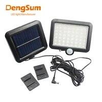 dengsum56 led solar light waterproof pir motion sensor wall lamp outdoor garden parks security emergencystreet solargarden