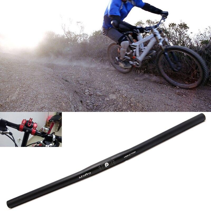 25.4mm Aluminum Alloy Handlebar Straight Bike MTB Bicycle Riser Flat Handlebar  high quality