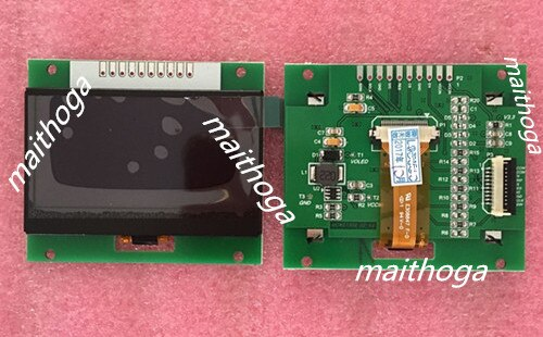 Maithoga 2,4 pulgadas 10PIN azul/amarillo/verde módulo OLED SSD1309 unidad IC128 * 64 interfaz SPI 3,3 V