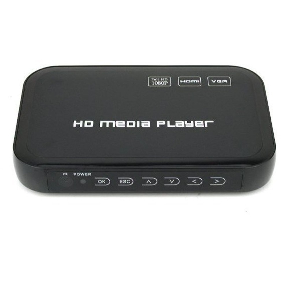 hd601 mini 3d 1080p full hd ultra portable digital media player hdmi vga cvbs sd usb divx mkv h 264 rmvb wmv mp3 flac ape REDAMIGO Mini Full HD1080p H.264 MKV HDMI  HDD Media Player Center USB OTG SD AV TV AVI RMVB RM HDDM3R