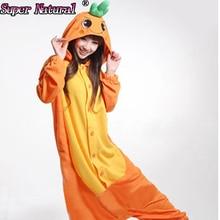 HKSNG 할로윈 소년 소녀 성인 겨울 만화 동물 당근 잠옷 Onesies Kigurumi Pijamas 코스프레 의상 Homewear Onesies