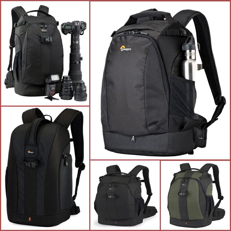 حقيبة كاميرا Lowepro Flipside الأصلية, حقيبة كاميرا Lowepro Flipside الأصلية 300AW 400AW / 400 II AW 500AW الرقمية SLR حقيبة صور حقائب ظهر + غطاء لجميع الأحوال الجوية