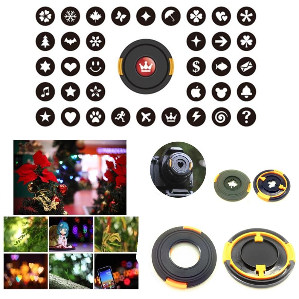 Набор объективов Bokeh Masters Kit, крышка для объектива с эффектом боке, фильтр для художественной романтической ночной съемки, объективы Canon, Nikon, ...