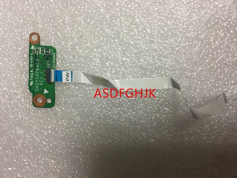 Original para HP Stream 11-d010wm Power Button Board W/Cable DA0Y0APB4C0 100% trabajo perfecto