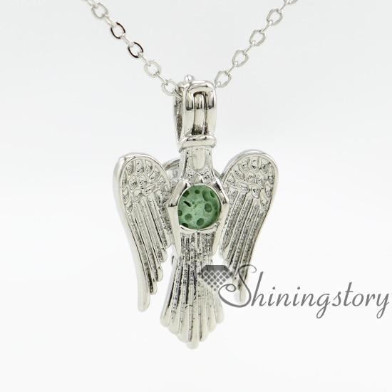 Joyas de aceite esencial para aves, gran medallón de plata, collar de medallones barato, cadenas para medallones, compras en línea