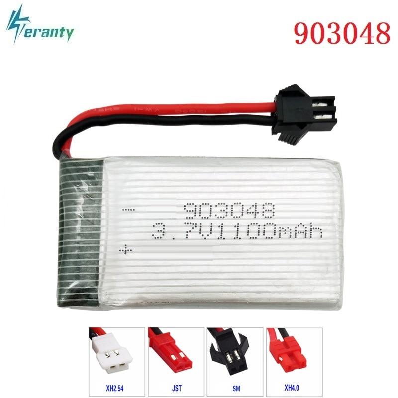Литий-полимерный аккумулятор для X5SC X5SW T04 F28 HuanQi 859B, 3,7 В, 1100 мАч, 903048